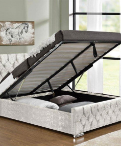 Somnus Bed with ottoman Hugo & Sons 5