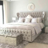 butterfly wingback bed new