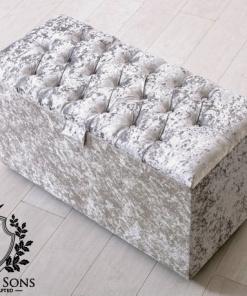 silver blanket storage box