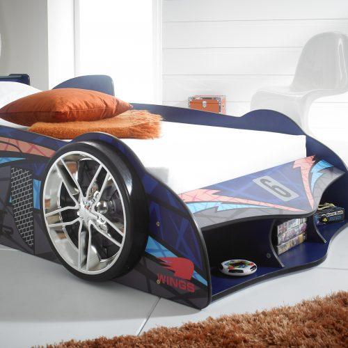 blue car racer bed 2