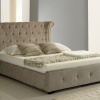 Mink Winged (Wing Back) Ottoman Storage Bed