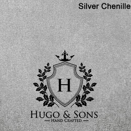 silver chenille small