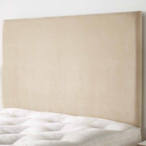 plain upholstered headboard