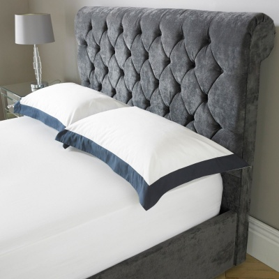 sleigh upholstered footboard 3