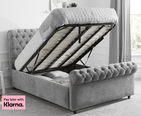 sleigh bed ottoman