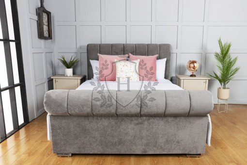francis sleigh ottoman storage bed 2