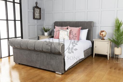 francis sleigh ottoman storage bed